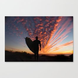 Surfer's Sky Canvas Print
