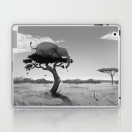 Scaredy Elephant Laptop & iPad Skin