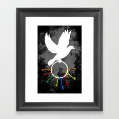 the key keeper  Framed Art Print