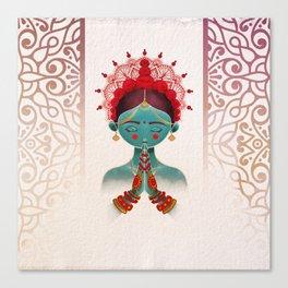 India Canvas Print