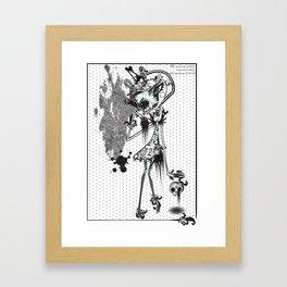 mystery of love Framed Art Print