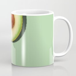 Avocado Half Slice Coffee Mug