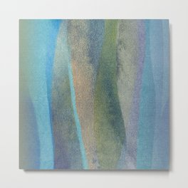 abstract marine composition Metal Print