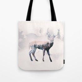 Deer & forest Tote Bag