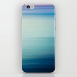 I Love the Sea Ombre Abstract iPhone Skin