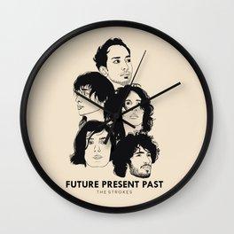 The Strokes: Future Present Past Wall Clock