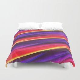 Pattern colorgradient purple Duvet Cover