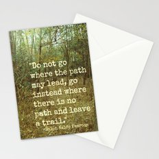 Blaze Your Own Trail Stationery Cards