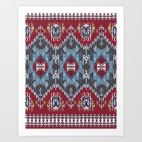 ethnic Art Prints featuring Ethnic  by Judy Csotsits
