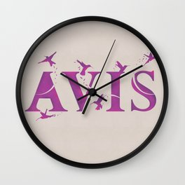 Harry Potter Incantation Collection : Avis Wall Clock