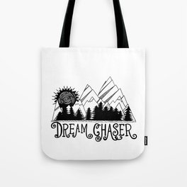 Dream Chaser, Mountain Adventure Tote Bag