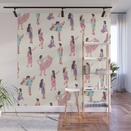 The Summer Girls Wall Mural