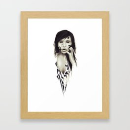 Hollow Framed Art Print