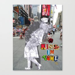 A Kiss in Time Canvas Print