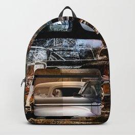 Vintage Auto Backpack
