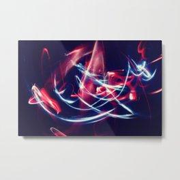 Dancing Lights Metal Print