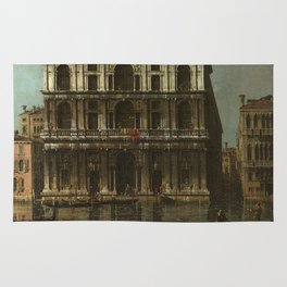 Venice, Palazzo Grimani by Canaletto Rug