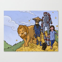 The Wonderful Wizard of Oz Canvas Print