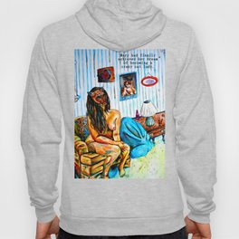 Mary had finally achieved her dream of becoming a crazy cat lady. Hoody