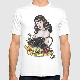 Pin Up Bettie Pinup Girl Whiplash T-shirt