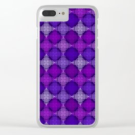 Op Art 158 Clear iPhone Case