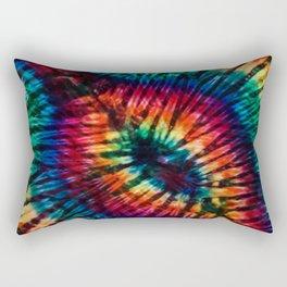 Tye Dye Rainbow Singularity Rectangular Pillow