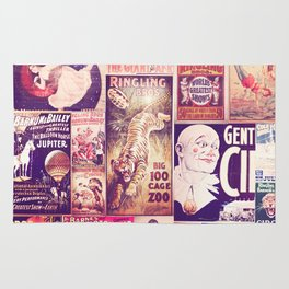 Circus Collage 2 Rug