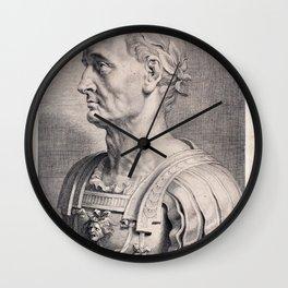 Gaius Julius Caesar Wall Clock