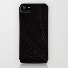 Into the Darkness of Winter iPhone Case