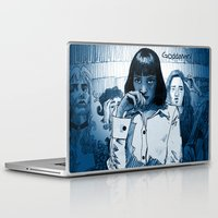 mia wallace Laptop & iPad Skins featuring Pulp Fiction - Mia Wallace by Rob O'Connor