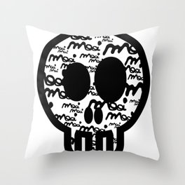 MOOIMOOI SKULL Throw Pillow