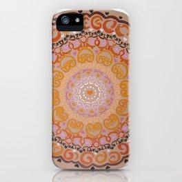 Harmony Mandala iPhone Case