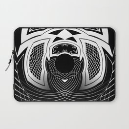 Concave Spiral Laptop Sleeve