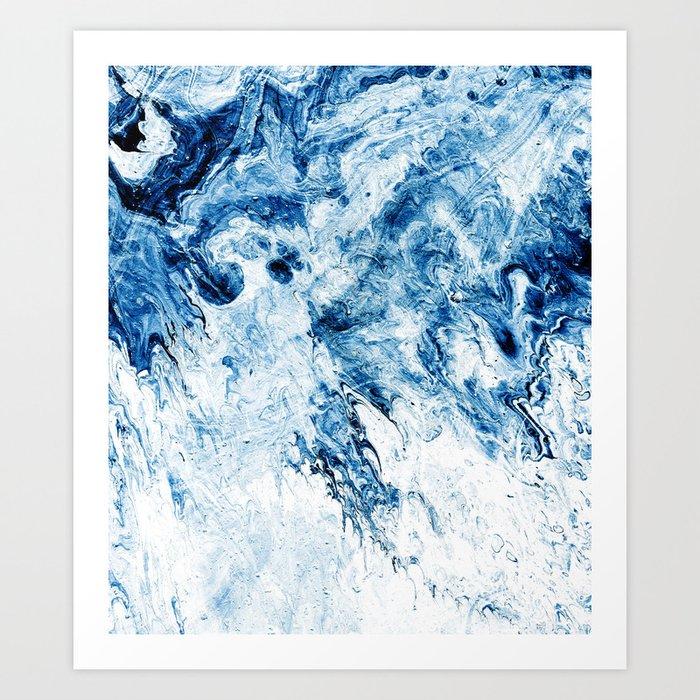 Art Fix #abstract #texture Art Print