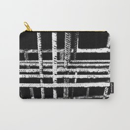 Rebar And Brick - Industrial Abstract Carry-All Pouch