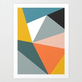 Modern Geometric 33 Art Print