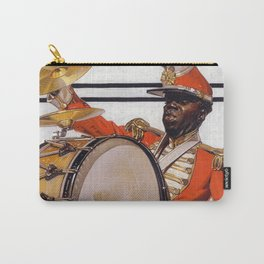 Drum Major, The Saturday Evening Post Cover, 1921 by Joseph Christian Leyendecker Carry-All Pouch