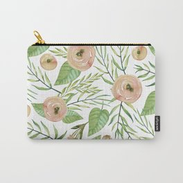 Country Rose Garden Carry-All Pouch