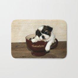 Cup of Puppy Bath Mat