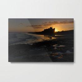 Bamburgh Castle - Nothumberland, UK Metal Print