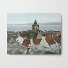 Culross From Above Metal Print