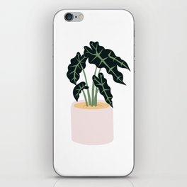 Elephent Ear Plant iPhone Skin