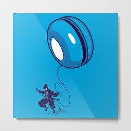 ninja yo-yo Metal Print