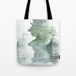 Silvery green Tote Bag