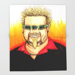 Flavor Town Throw Blanket