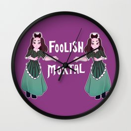 Foolish Hostess Wall Clock