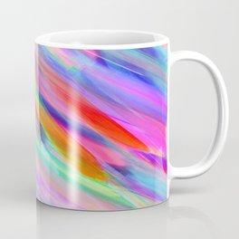 Colorful digital art splashing G399 Coffee Mug