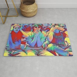 Dazed and Confused x flora Rug