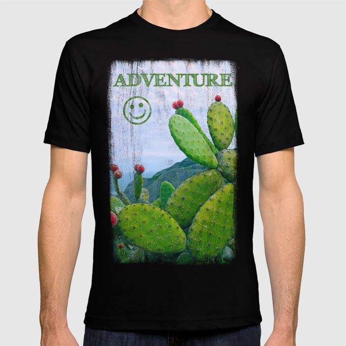 Blooming cacti T-shirt