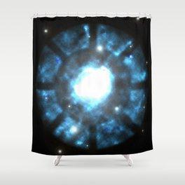 Man of Iron Nebula Shower Curtain